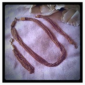 Vintage Sarah Coventry Convertible Jewelry Set